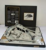 A Star Wars Official Prop Replicas - Rebel Snowspeeder from Episode V: The Empire Strikes Back (