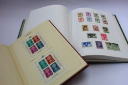 A collection of medicine theme stamps in two volumes.