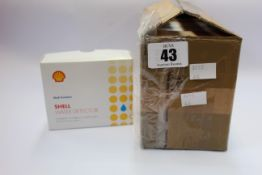 Five boxes of as new Shell Water Detector Capsules (8 tubes with 10 capsules per tube each box,