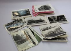 A collection of Pamlin Print postcards in box, hundreds.