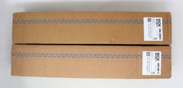 A boxed as new Sick C4C-SA04530A10000 deTec4 Core Safety light curtain Sender (30mm, 450mm, 15m. P/