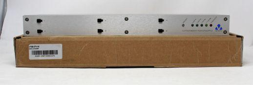 A Veracity rack mountable power supply unit (PN: VPSU-57V-1U)