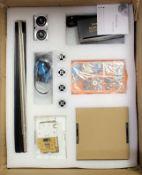 A boxed as new EleksMaker EleksDraw XY Plotter Pen / Drawing Writing Robot (box damaged)