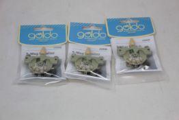 Ten as new Göldo US005 CRL 5-Way Switches.