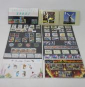 Presentation packs, year packs, mint sets and miscellaneous collectables.