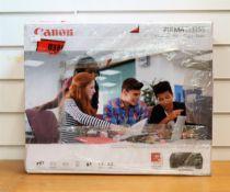 A boxed as new Canon Pixma TS3355 wireless printer/copier/scanner in black