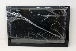 "Five pre-owned Advantech 22"" industrial TFT-LCD monitors in black (PN: X-A0D22WXLED-ST-C) ("