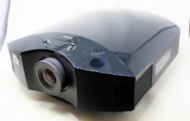 A pre-owned Sony VPL-HW40ES SXRD Home Cinema Projector (No remote, power cable or other