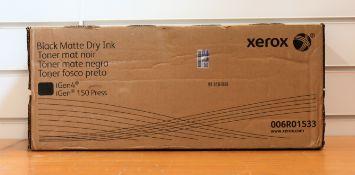 A boxed as new Xerox Black Matte Dry Ink Cartridge for iGen 150 / iGen4 (PN: 006R01533)