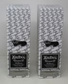 Two Ardbeg Blaaack The Ultimate Islay single malt Scotch whisky committee 20th Anniversary limited