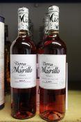 Eleven bottles of Tierras de Murillo Rosado Rioja wine (11 x 750ml) (Over 18's only).