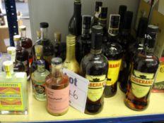 A quantity of assorted spirits to include Soberan, Veterano, Fair Cacao, Manhattan Cocktails,