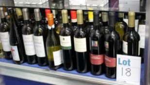 A quantity of assorted red/white Italian wines (Approximately 47 items) (Over 18's only).