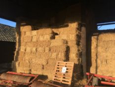 700 Small pick up bales approx. wheat straw in a barn, 10t approx. T W Johnson & Son, Home Farm, Fen