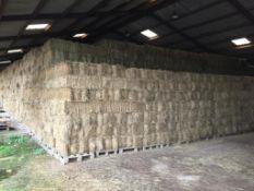400 Flat 8 Bales only Meadow Hay in a barn. L. Radford Esq., Geaves Farm, PE27 5HG