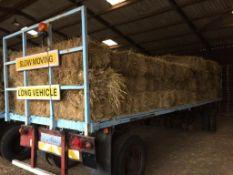 111 Flat 8 Bales only Meadow Hay in a barn on a trailer. L. Radford Esq., Geaves Farm, PE27 5HG