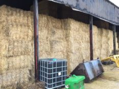 55 MF 120x70 Bales only Barley Straw in a Barn - 20T approx. BJ Northern and Sons, Redlands Farm, SG