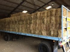 132 Flat 8 Bales only Meadow Hay in a barn on a trailer. L. Radford Esq., Geaves Farm, PE27 5HG