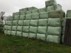60 90x160x120 8 String Bales Only 2019 Rye Vetch Haylage Outside - 24t approx. DC and K Rolls, Copy
