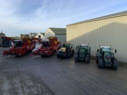 SALE BY ONLINE TIMED AUCTION OF MODERN FARM MACHINERY AND SPECIALIST POTATO EQUIPMENT