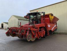 2010 Grimme Tectron 415 4 row self-propelled potato harvester