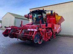 2013 Grimme Tectron 415 4 row self-propelled potato harvester