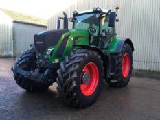 2016 Fendt 828 Vario tractor