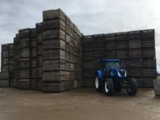 180No. 5ft x 4ft x 4ft potato boxes (boxes will be loaded on a first come first serve basis)