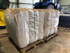 300No. plain jumbo 1.25t potato bags