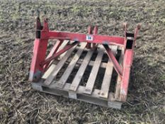 Front implement hitch