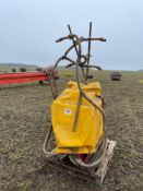 2007 Stocks AG Turbo Jet Wizard applicator. Serial No: 062156