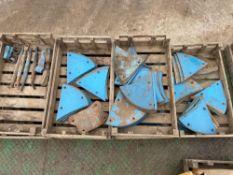 Quantity Lemken slatted mouldboard plough spares