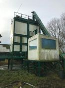Compost tower and conveyors, sold in situ. Please note that this lot is situated at Catherine's Far