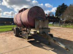 Single Axle Tanker