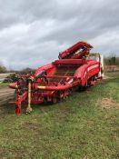 Grimme GT Potato Harvester