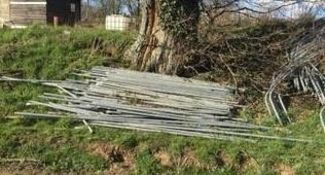 Polytunnel End Stakes
