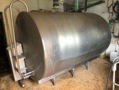 Fabdec Ltd Dari-Kool Galvanised Bulk Tank