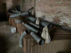 5 x Wooden Grain Bins