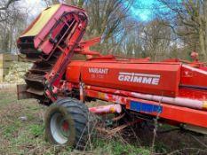 Grimme Variant DL 1700 Root Crop Harvester