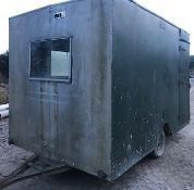 Gun Bus/Portable Cabin