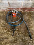 Fuel pump, hose and gun