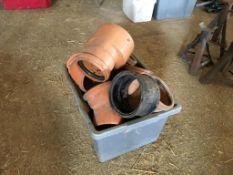 Quantity drainage parts