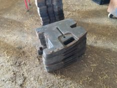 Quantity Claas wafer weights