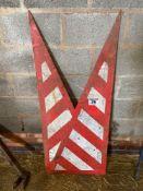 Quantity hazard signs