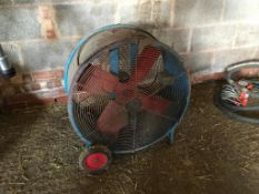 Clarke Air Mover, single phase