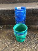 Quantity of calf feeding buckets