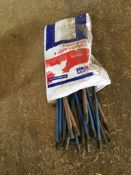 Quantity drainage rods