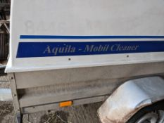 Aguilia mobile cleaner trailer