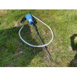 Manual ad-blue pump