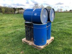 6No barrels